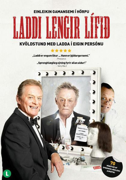 Icelandic sweaters and products - Laddi Lengir Lífið (DVD) DVD - NordicStore