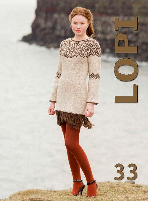 Icelandic sweaters and products - Lopi Pattern Book No. 33 Pattern Book - NordicStore