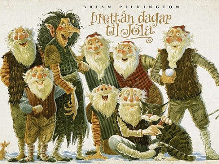 Icelandic sweaters and products - A fortnight before Christmas - Þrettán dagar til jóla Book - NordicStore