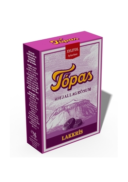 Icelandic sweaters and products - Topas Liquorice Candy - NordicStore