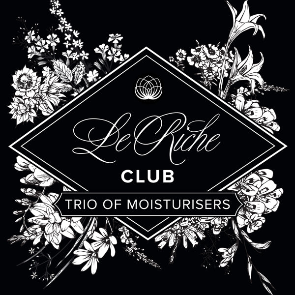 Trio of Moisturisers - Monthly Supply - Le Riche CLUB Subscription