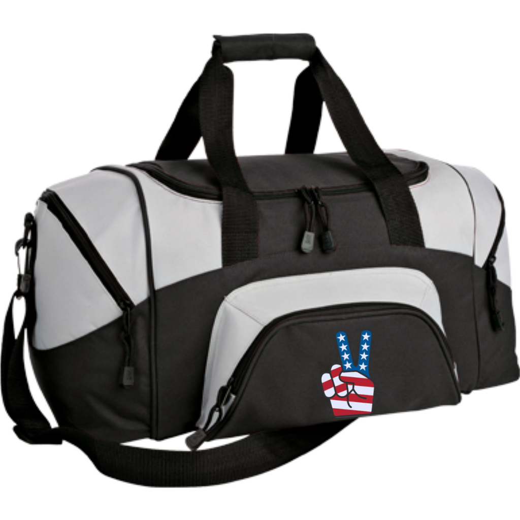 Small American Peace Sport Duffel Bag