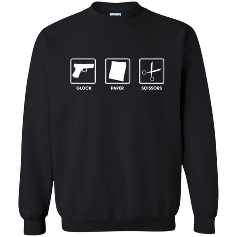 Glock Paper Scissors Sweatshirt