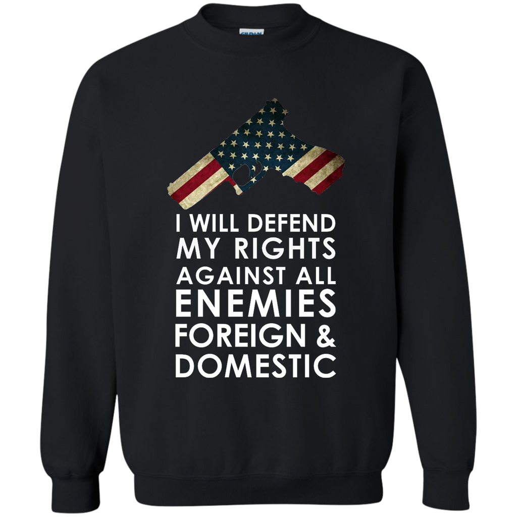 Defend My Rights Sweatshirt