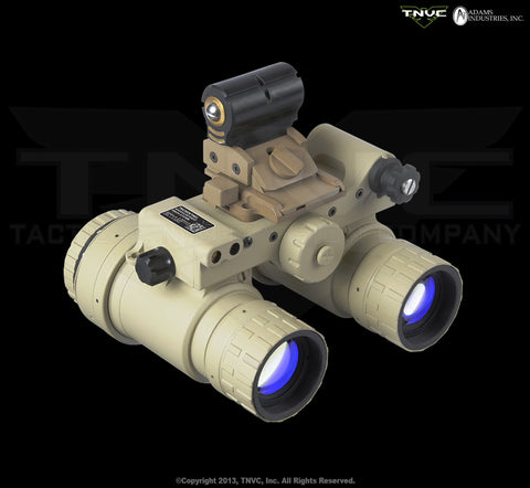 TNVC / Sentinel Binocular Night Vision System - L-3 OMNI VIII - Up-Armored Aviation-Style Goggle