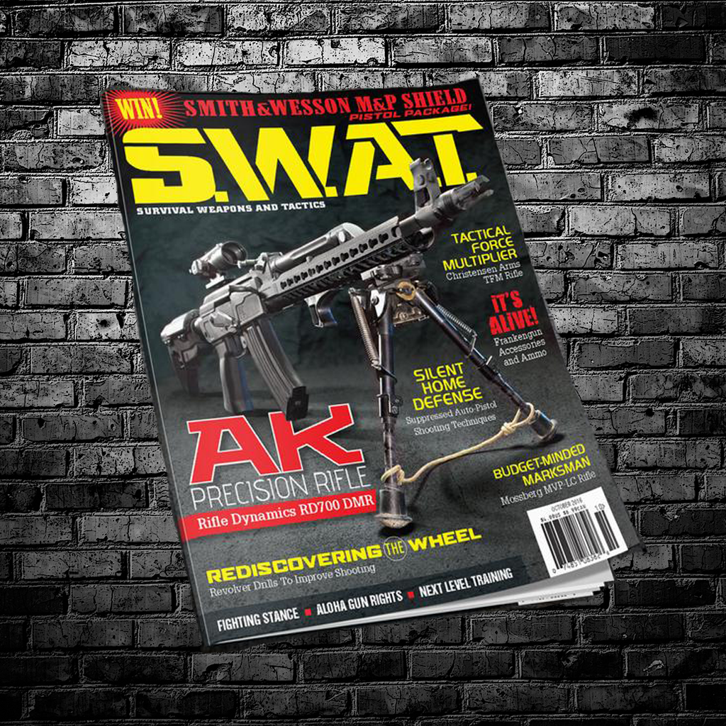 1 Year SWAT Magazine Subscription (12 Print Issues)