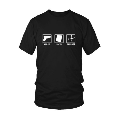Glock Paper Scissors T-Shirt