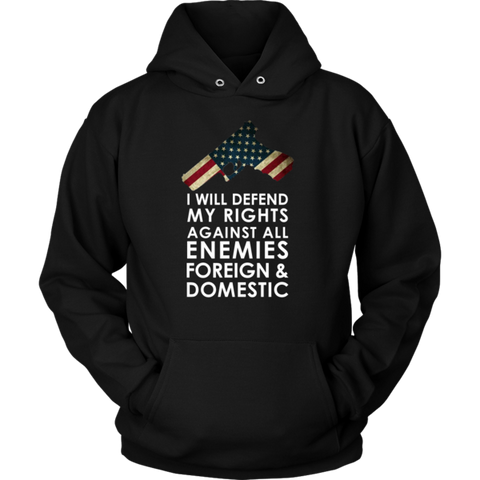 Defend My Rights Hoodie