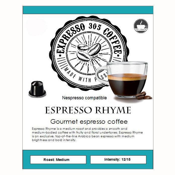 Espresso Rhyme -Medium roast-