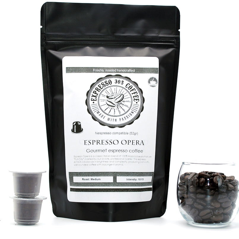 Espresso Opera -Medium roast-