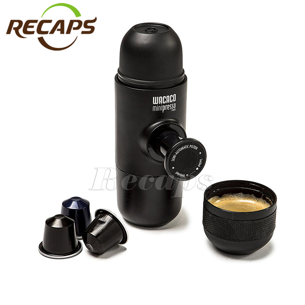 Minipresso Wacaco NS Coffee Machine Compatible with Nespresso Capsules Espresso Coffee Maker Coffee Machine For Original Capsule