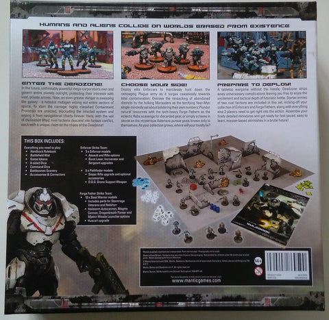 Deadzone 2nd Edition Box Bacl