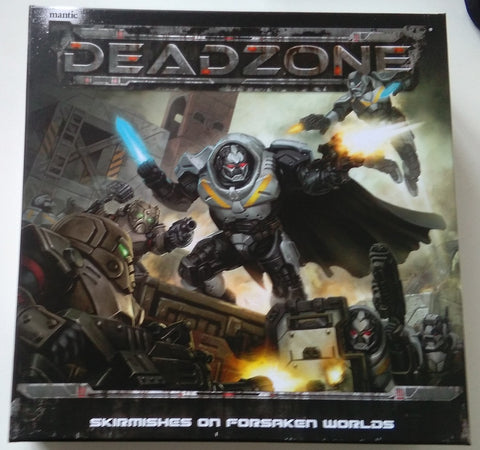 Deadzone 2nd Edition Starter Set Review and Unboxing