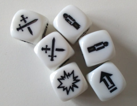 Deadzone 2nd Edition Dice