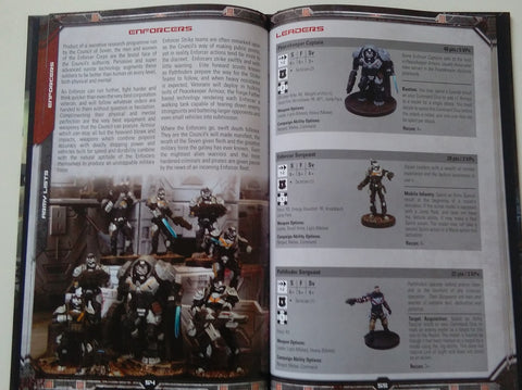 Deadzone 2nd Edition Rulebook Inside