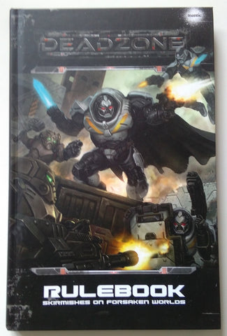 Deadzone 2nd Edition Rulebook Front