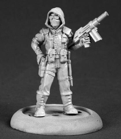 Post Apocalyptic Hunter - Reaper Miniatures Chronoscope 50299