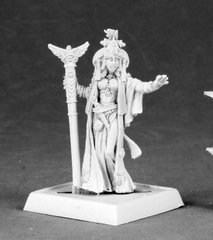 Alahazra, Iconic Oracle - Reaper Miniatures Pathfinder 60043