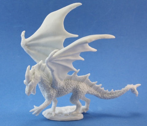 Young Fire Dragon - Reaper Miniatures Bones 77026