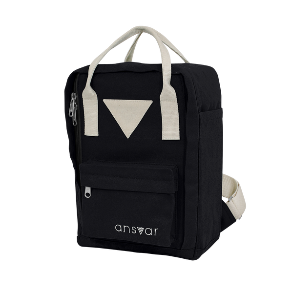 Mini Backpack ansvar IV - Black