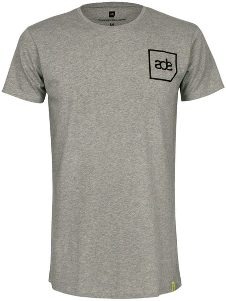 ADE Unisex T-Shirt Logo Black on Grey