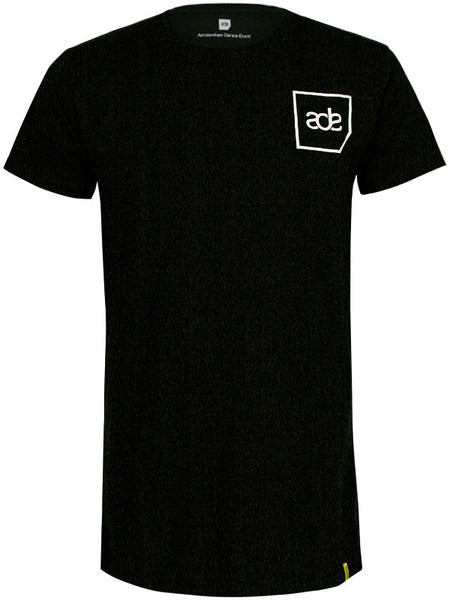 ADE Unisex T-Shirt Logo White on Black