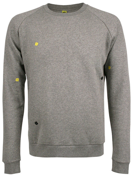 ADE Unisex Sweater Cubes Grey