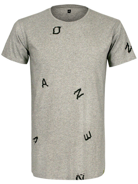 ADE Unisex T-Shirt Glitch Grey