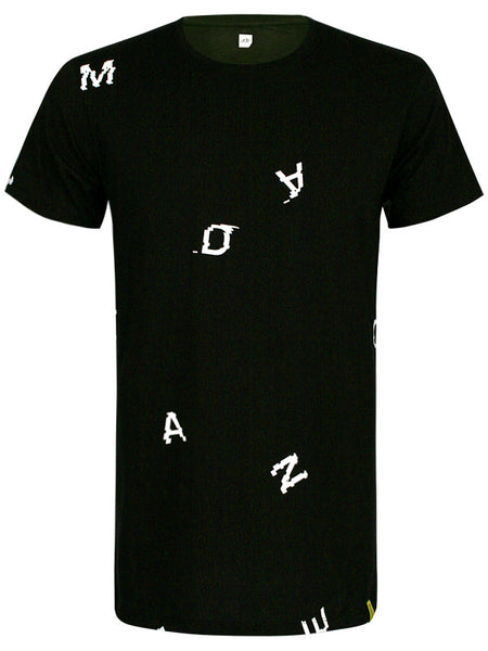 ADE Unisex T-Shirt Glitch black