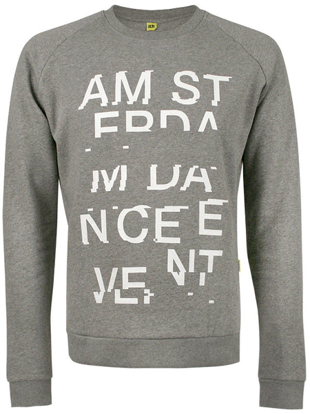ADE Unisex Sweater Glitch Grey