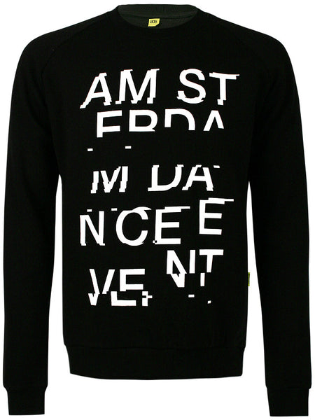 ADE Unisex Sweater Glitch Black