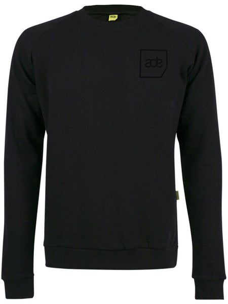 ADE Unisex Sweater Logo Black