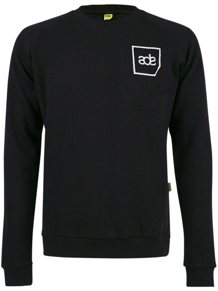 ADE Unisex Sweater Logo White on Black