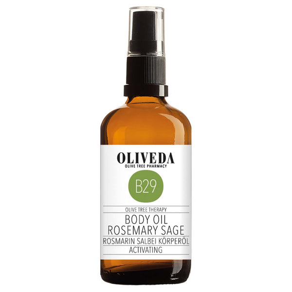 B29 Body Oil Rosmary Sage Activating