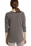 Becky Loose Top Stripe