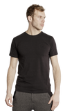 Brent Round Neck T-shirt Black