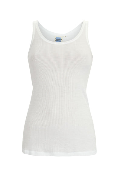 Bright White Bamboo Tank Top Essentials