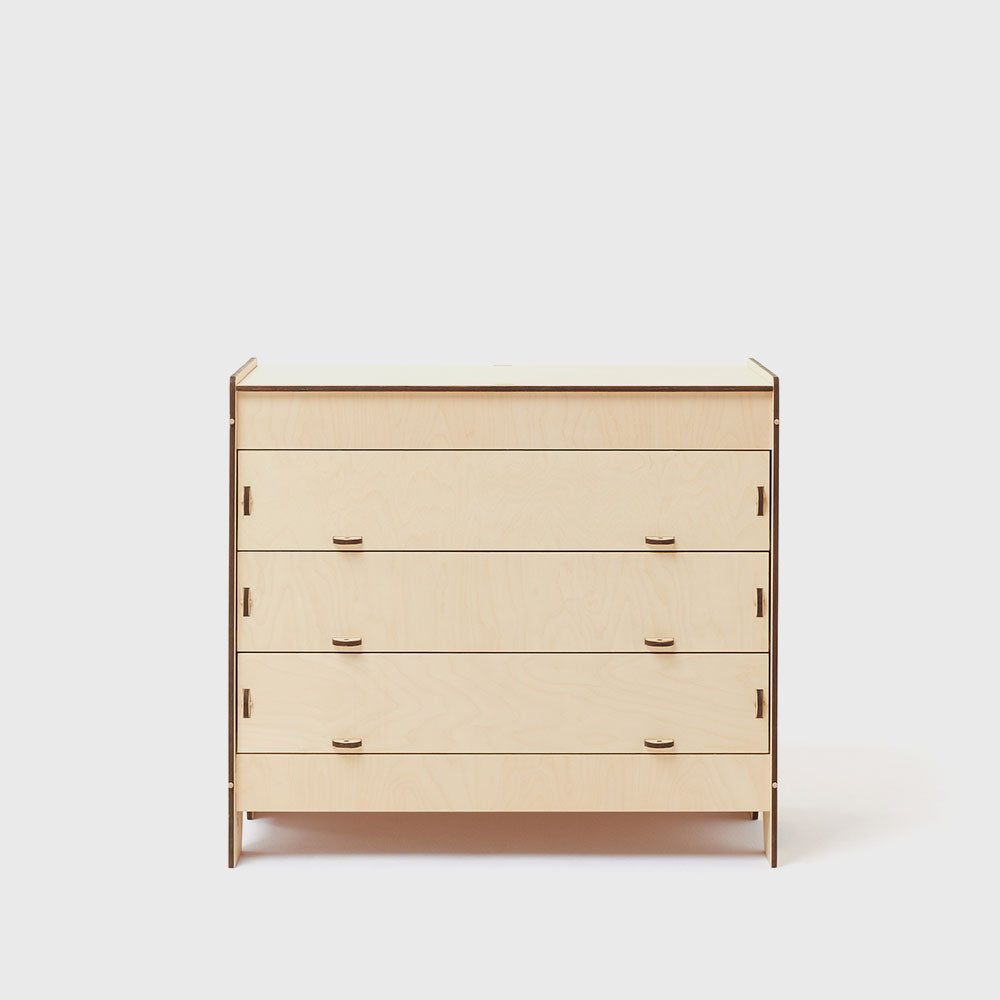 A4 Drawers are a minimalist furniture piece for modern bedroom interiors