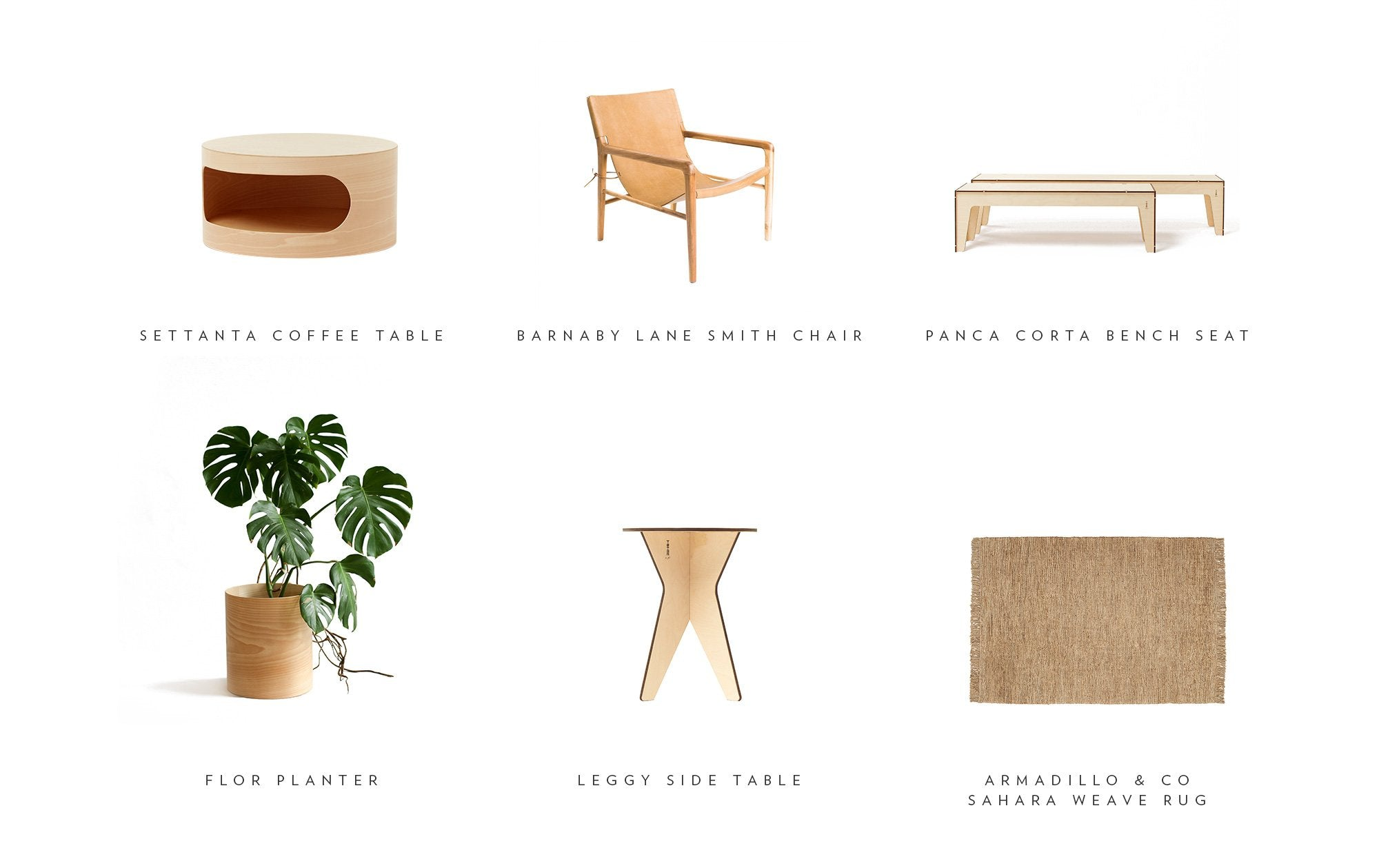 Inspired by Comma Byron Bay with the Plyroom Flor Planter and Settanta Coffee Table