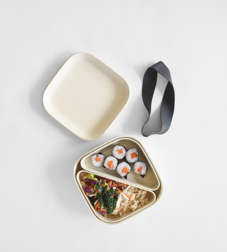 Ekobo | Biobu Go | Bento Lunch Box from Father Rabbit Minimalist Furniture