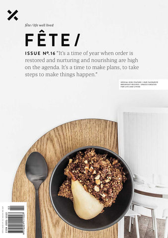Fete Press AW 2016 Issue No 16 Cover