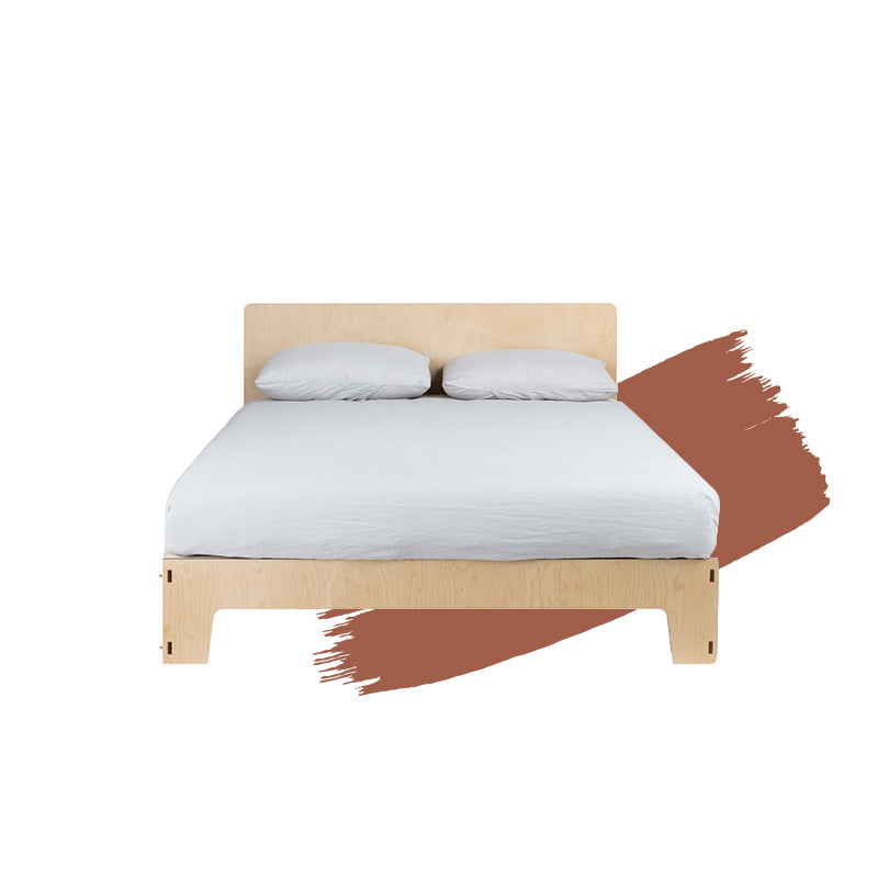 Flat Out Queen Bed Japandi Modern Furniture Melbourne