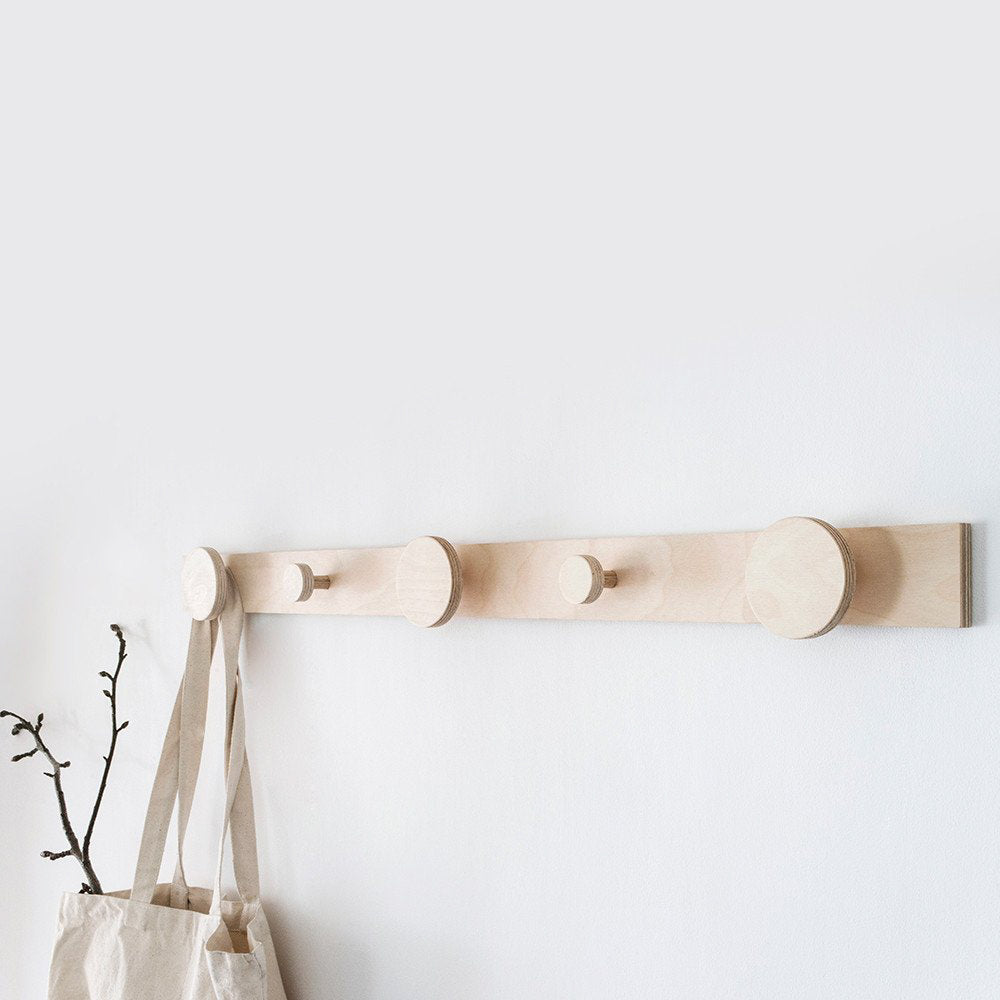 Hang on Piccolo Coat Rack by Plyroom