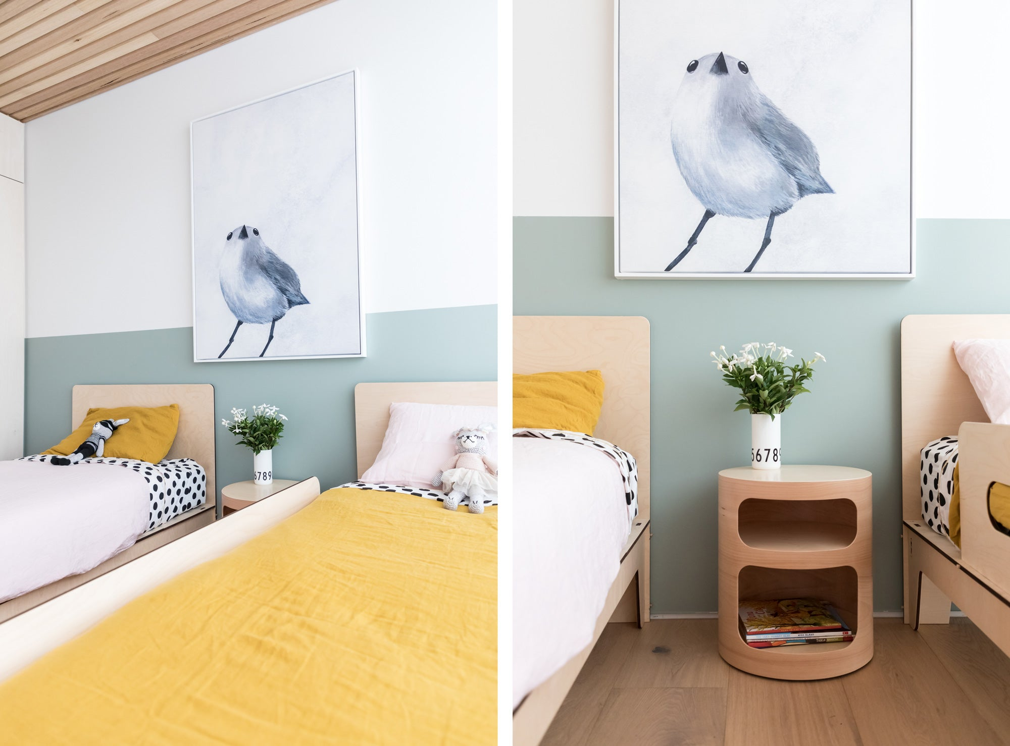 Image of a Children's Bedroom design by Hide and Sleep featuring the Singolo Single Bed