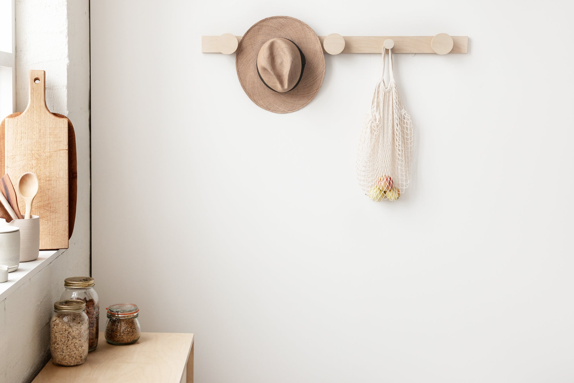 Hang on Piccoo Coat Rack minimalist furniture made in Melbourne