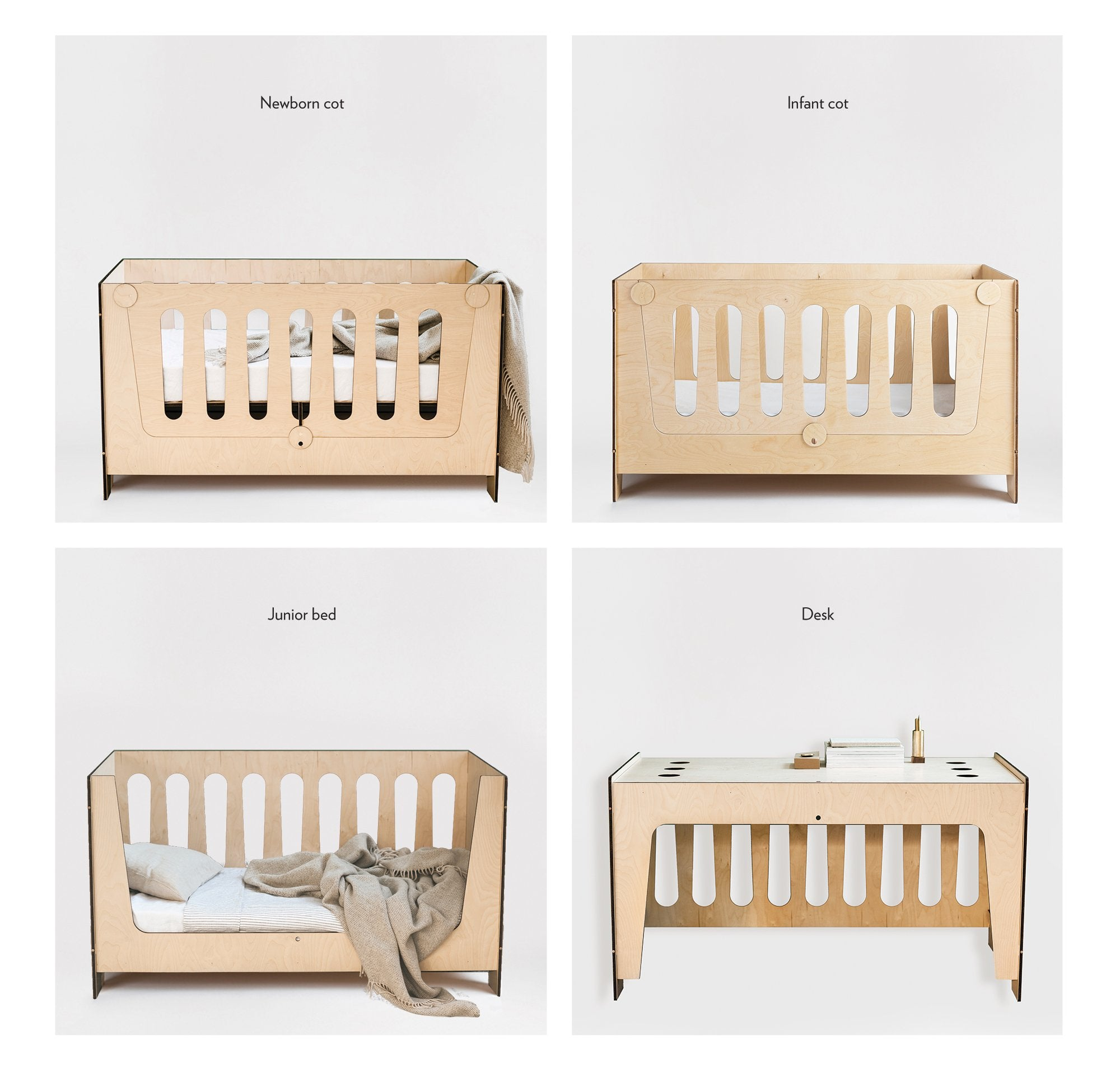 Plyroom Ava Lifestages Cot