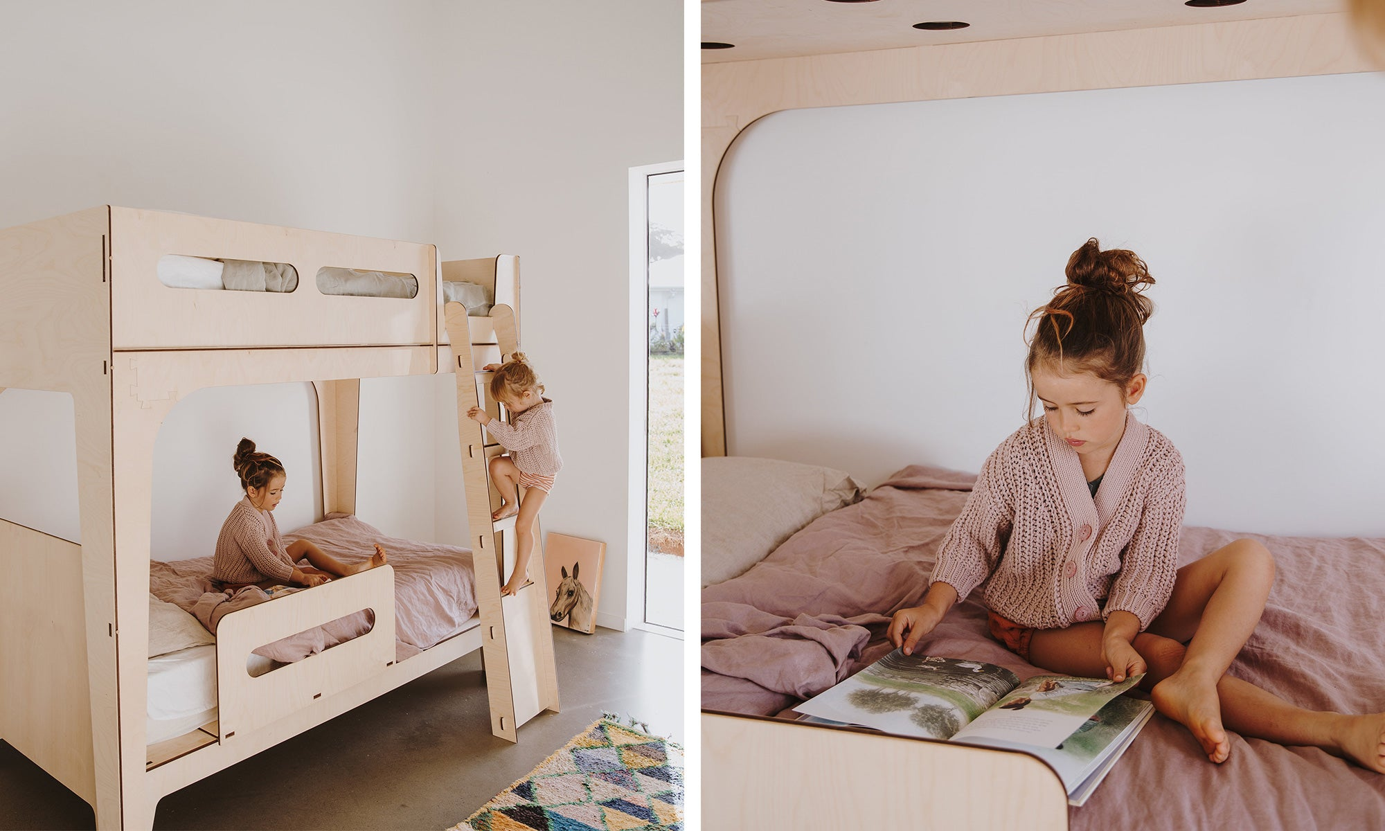 Modern Bunk Beds and Loft Beds for Small Space Living