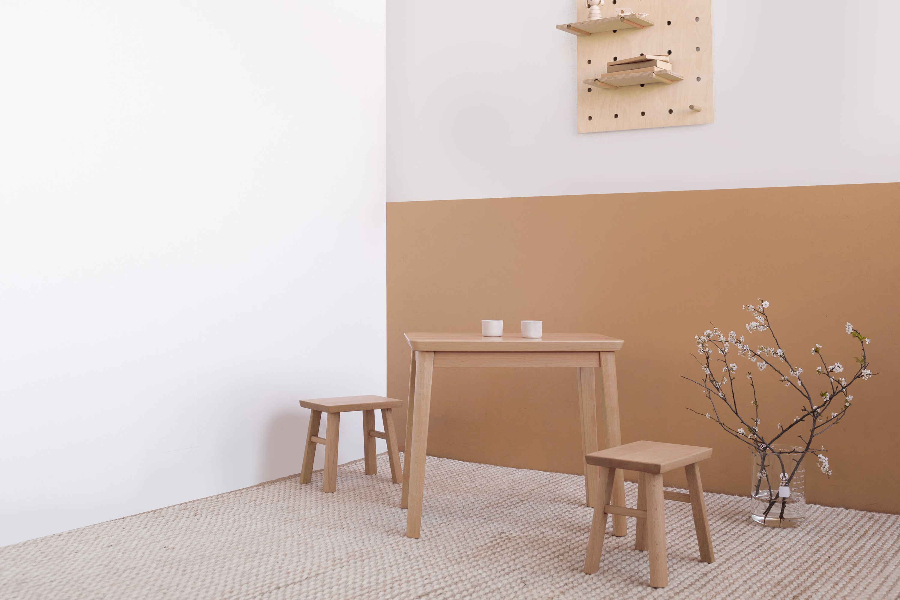 Modern kids table and chairs Melbourne by Plyroom