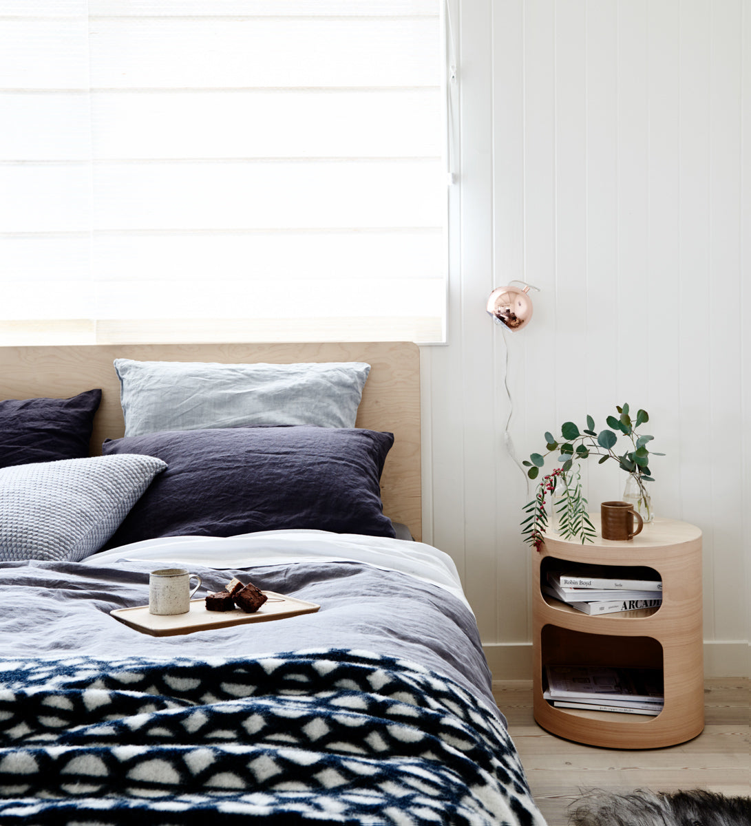 Gifts for the organised home with Plyroom's minimalist furniture design and modern bedroom storage