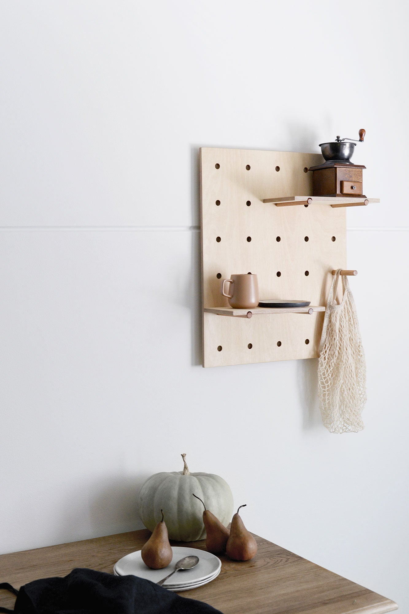 Peggy Pegboard Plyroom Meghan Plowman Kitchen
